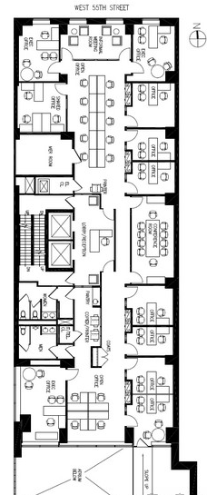 2ND GENERATION Entire 5th Floor   6,678 RSF Asking $52 PSF